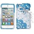 BasAcc Blue Butterfly Chain Case for Apple iPod Touch 4th Generation
