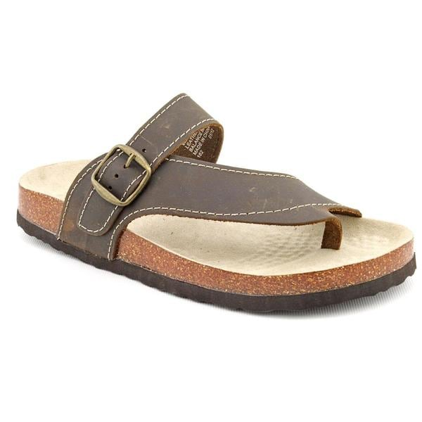 White Mountain Women's 'Carly' Leather Sandals