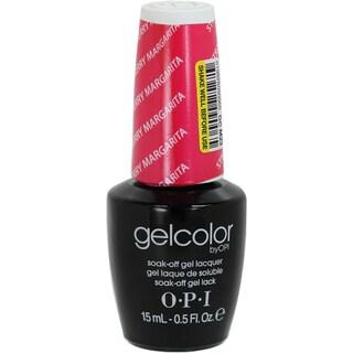 OPI Gelcolor Strawberry Margarita Soak-Off Gel Lacquer