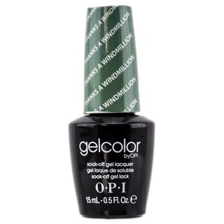 OPI Gelcolor Thanks A Windmillion Soak-Off Gel Lacquer