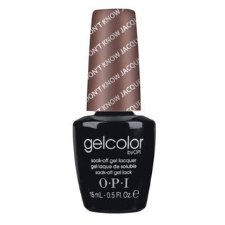 OPI GelColor You Don't Know Jacques! Soak-Off Gel Lacquer