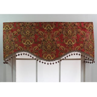 Chapala Ruby Patterned Cornice Valance