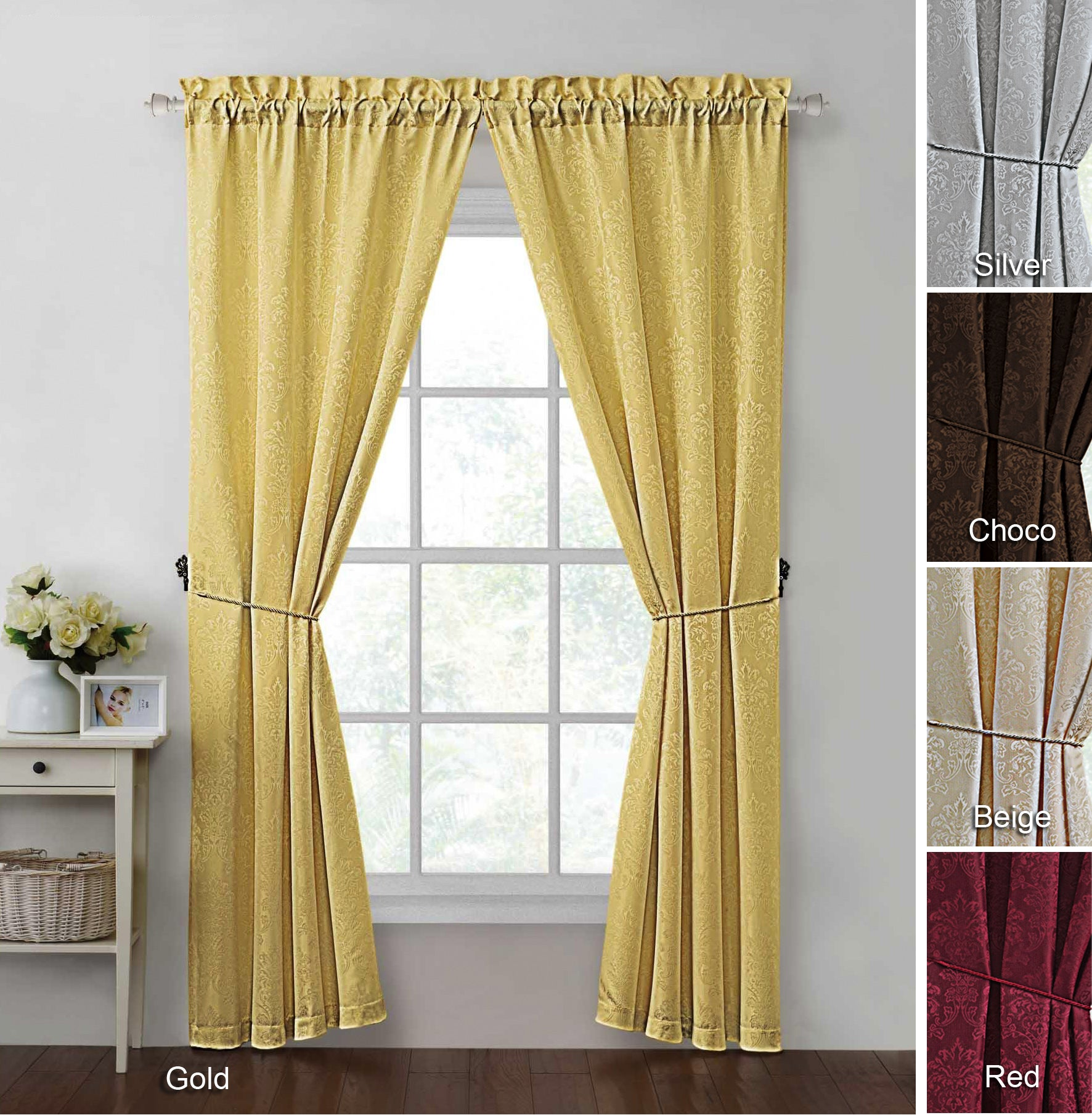 Madison 84-inch Curtain Panel Pair at Sears.com