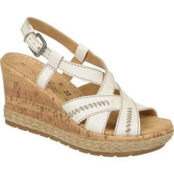 Women's Naturalizer Norma White Atanado Vegetable Leather
