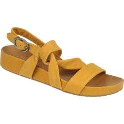 Women's Naya Brittany Hot Mustard Elko Nubuck Leather