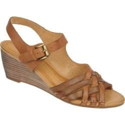Women's Naya Fausta Brandy/Coffee Bean Souvage Leather