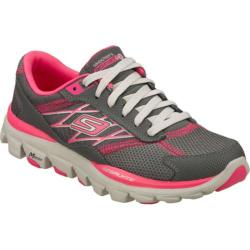 Women's Skechers GOrun ride 2 Gray/Pink