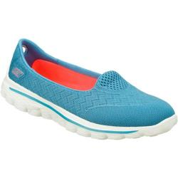 Women's Skechers GOwalk 2 Axis Light Blue