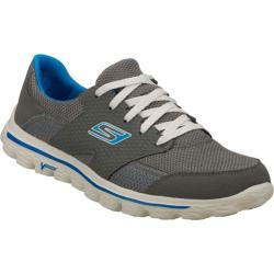 Men's Skechers GOwalk 2 Stance Gray/Blue