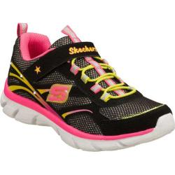 Girls' Skechers S Lights Lite Dreams II Black/Multi