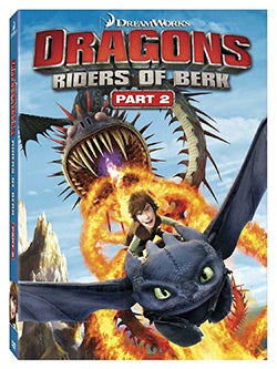 Dragons: Riders of Berk Part 2 (DVD)