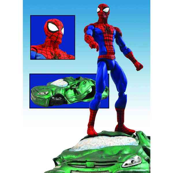 Marvel Select Spider-Man Action Figure (Toy) 11199628