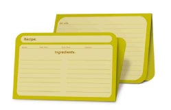 Recipe Card Pad Kiwi (Cards)