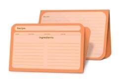 Recipe Card Pad Tangerine (Cards)