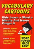 Vocabulary Cartoons: Building an Educated Vocabulary With Visual Mnemonics (Paperback)
