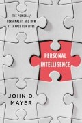 Personal Intelligence: The Power of Personality and How It Shapes Our Lives (Hardcover)