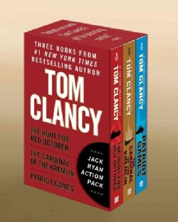 Tom Clancy's Jack Ryan: The Hunt for Red October / the Cardinal of the Kremlin / Patriot Games (Paperback)