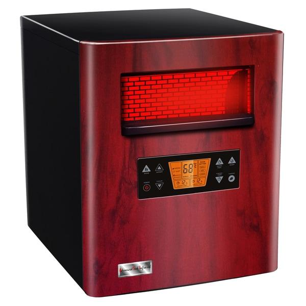 Advanced Tech Infrared Heat King 1500 Infrared Quartz Portable Heater and Air Purifier