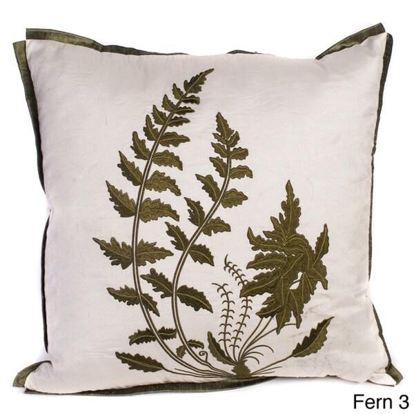 Fern 18-inch Decorative Pillow