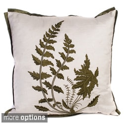 Fern 18-inch Decorative Pillow