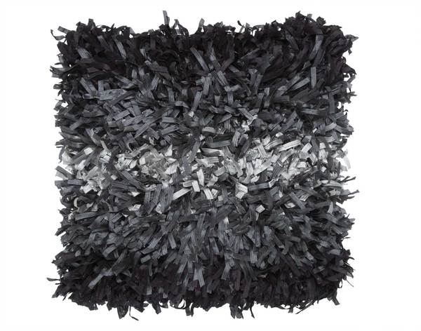 Hand-textured Shaggy 18-inch Decorative Pillow