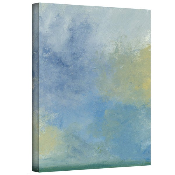 Jan Weiss 'Misty Sky' Gallery-wrapped Canvas Art