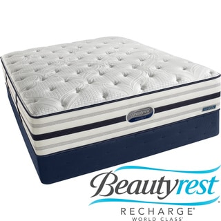 Beautyrest Recharge World Class Sea Glen Extra Firm California King-size Mattress Set