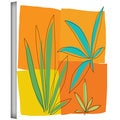 Jan Weiss 'Grasses II' Gallery-wrapped Canvas Art