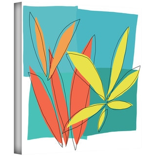 Jan Weiss 'Grasses I' Gallery-wrapped Canvas Art