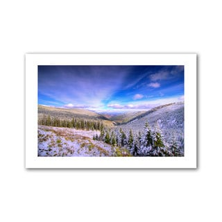 Dragos Dumitrascu 'Winter Lands II' Unwrapped Canvas