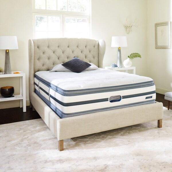 Beautyrest Recharge Reynaldo Luxury Firm Pillow Top California King Size Mattress Set