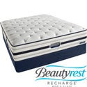 Beautyrest Recharge World Class Sea Glen Plush Cal King-size Mattress Set