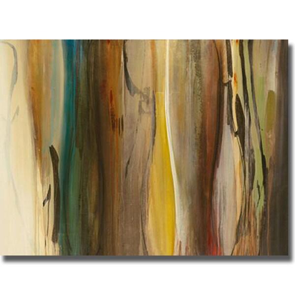 Sarah Stockstill 'Forms in Harmony' Canvas Art