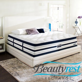 Beautyrest Recharge World Class Sea Glen Luxury Firm Super Pillow Top California King-size Mattress Set