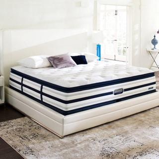 Beautyrest Recharge World Class Sea Glen Luxury Firm Super Pillow Top California King-size Mattress Set