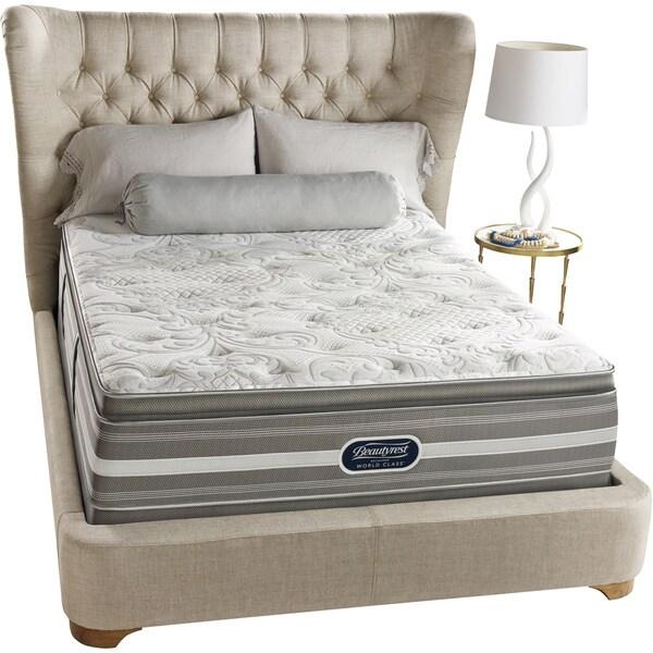 Beautyrest Recharge World Class Sea Glen Luxury Firm Super Pillow Top Queen-size Mattress Set