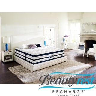Beautyrest Recharge World Class Sea Glen Plush Super Pillow Top Cal King-size Mattress Set