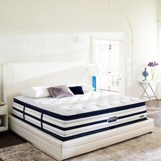 Beautyrest Recharge World Class Sea Glen Plush Super Pillow Top Cal King-size Mattress Set