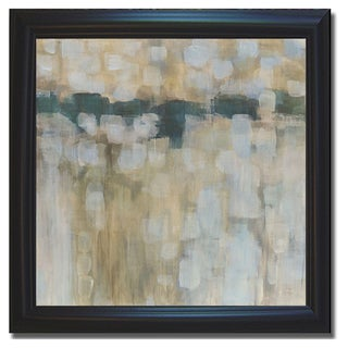 Karen Lorena Parker 'Carbon Neutral' Framed Canvas Art