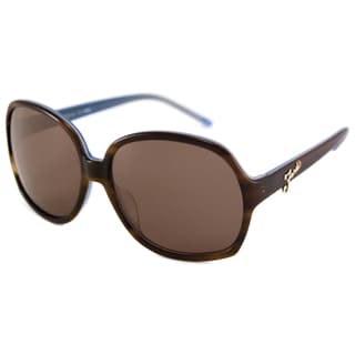 Fendi Women's FS5203 Rectangular Plastic Sunglasses