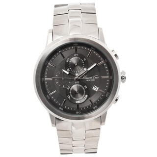 Kenneth Cole New York Men's Gunmetal Grey Chronograph Watch