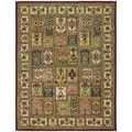 Safavieh Hand-made Classic Multi Wool Rug (11' x 15')