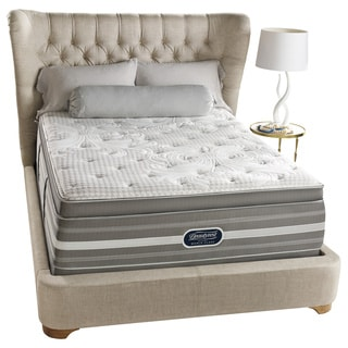 Beautyrest Recharge World Class Rekindle Plush Super Pillow Top Queen-size Mattress Set