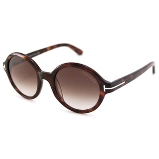 Tom Ford Men's TF0199 Carter Round Sunglasses