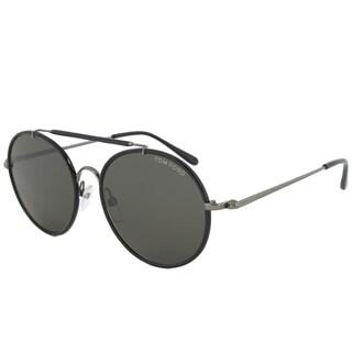 Tom Ford Men's TF0246 Samuele Round Sunglasses