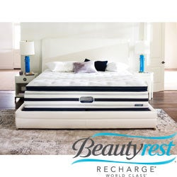 Beautyrest Recharge World Class Rekindle Plush Super Pillow Top California King-size Mattress Set