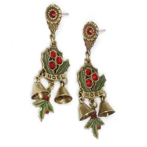 Sweet Romance Noel Christmas Earrings