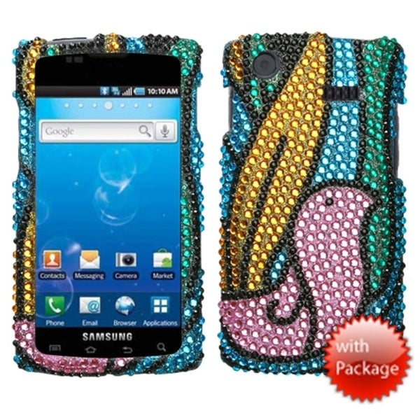 INSTEN Birdy Premium Diamante Phone Case Cover for Samsung I897 Captivate