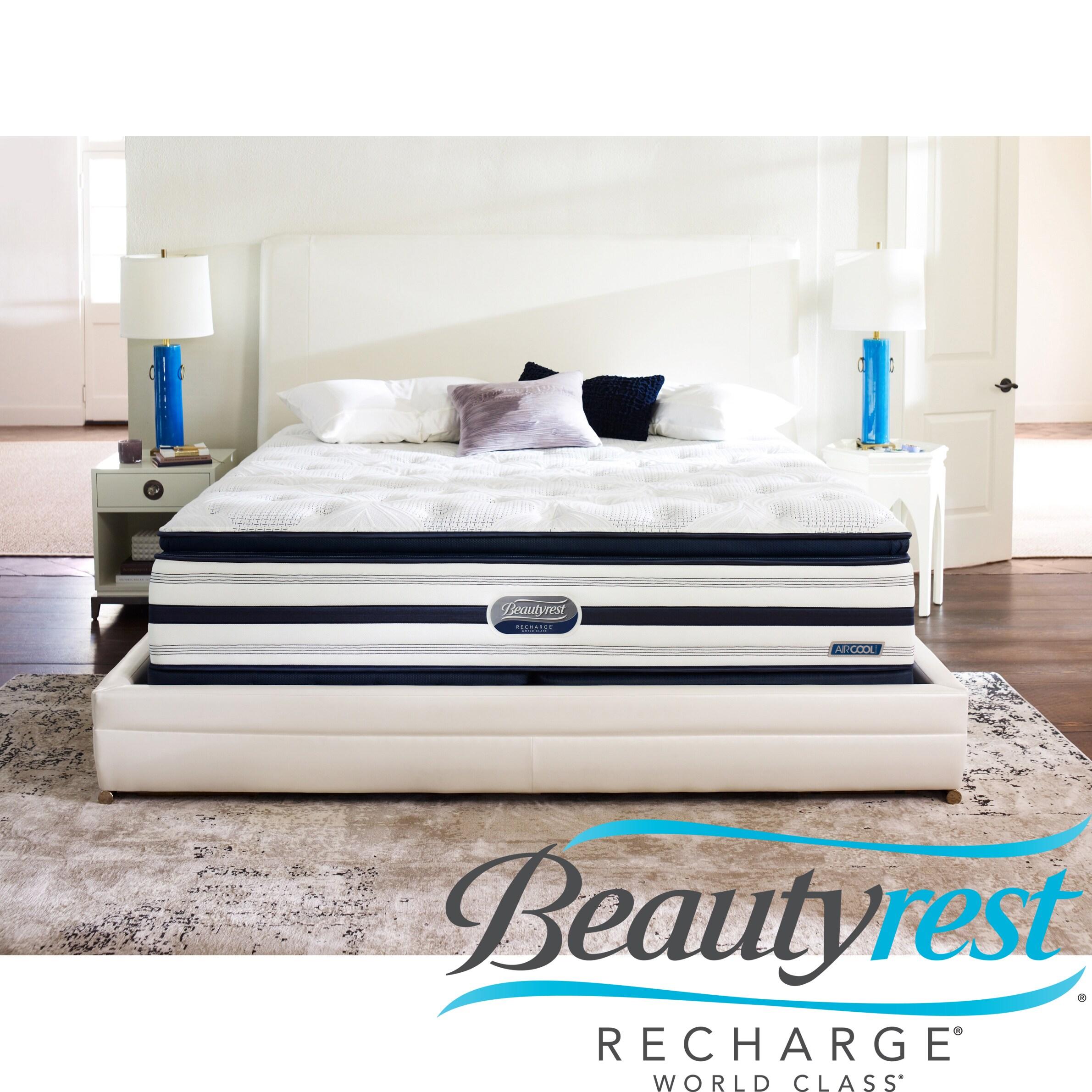 Beautyrest Recharge World Class Rekindle Luxury Firm Super Pillow