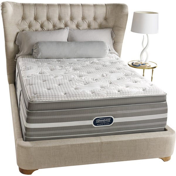 Beautyrest Recharge World Class Rekindle Luxury Firm Super Pillow Top California King-size Mattress Set